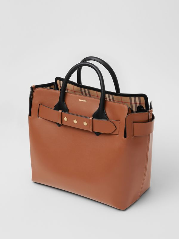 The Medium Leather Triple Stud Belt Bag in Malt Brown - Women | Burberry - cell image 3