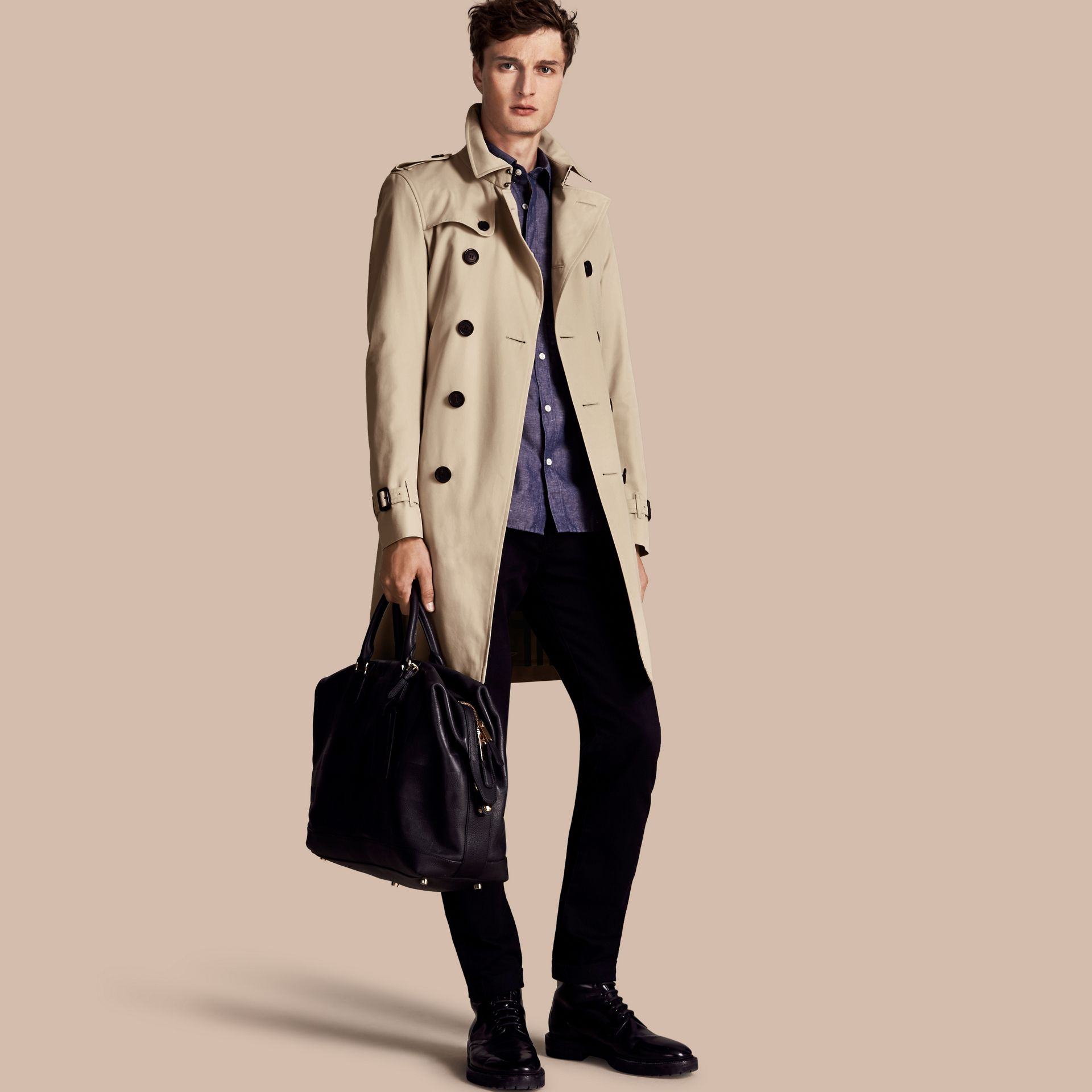 Stone Trench-coat Heritage long The Chelsea Stone - photo de la galerie 1