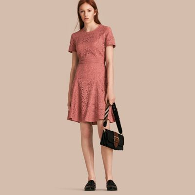 Red lace dress the iconic