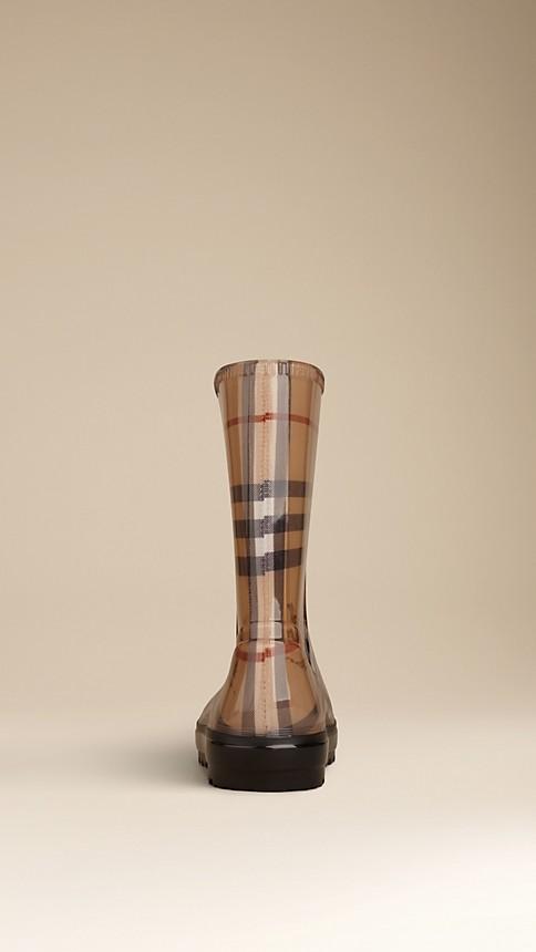 Haymarket Classic Check Rain Boots - Image 2