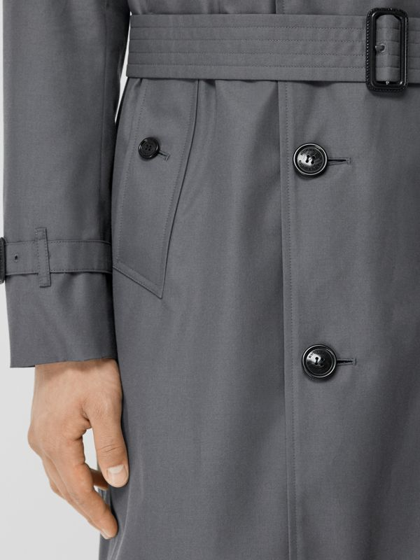 The Chelsea Heritage Trench Coat in Mid Grey - Men | Burberry Australia - cell image 3