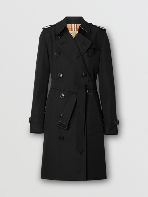 Trench coat Heritage The Kensington medio (Nero)
