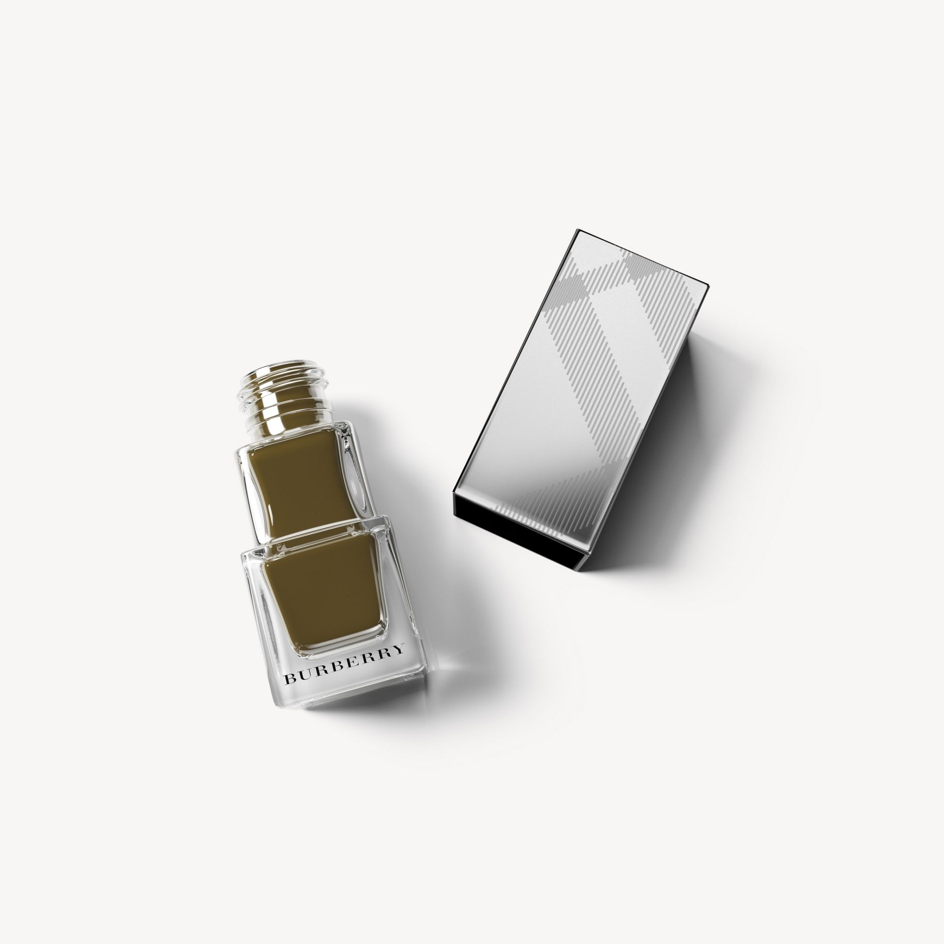 Nail Polish – Khaki Green No.205 - Femme | Burberry - photo de la galerie 0