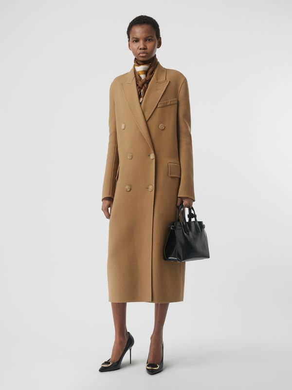 The Small Soft Leather Banner in Black - Women | Burberry United States - cell image 2