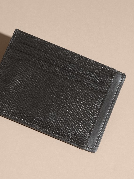 London Leather Card Case in Black - cell image 3