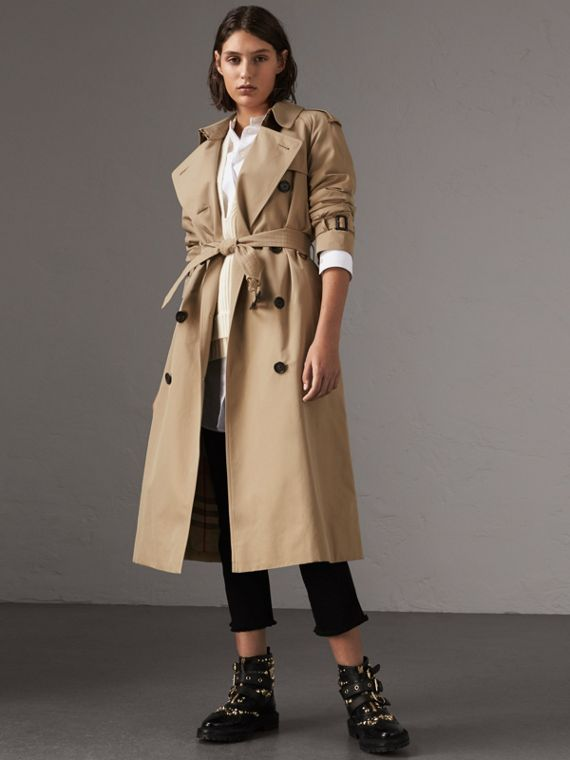 Trench coat Westminster extralargo (Miel)