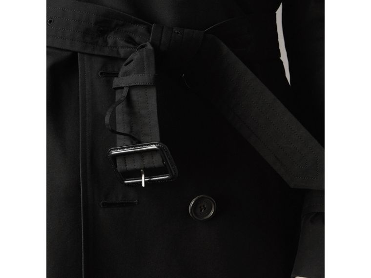 The Sandringham – Mid-length Heritage Trench Coat in Black - Men | Burberry - cell image 4