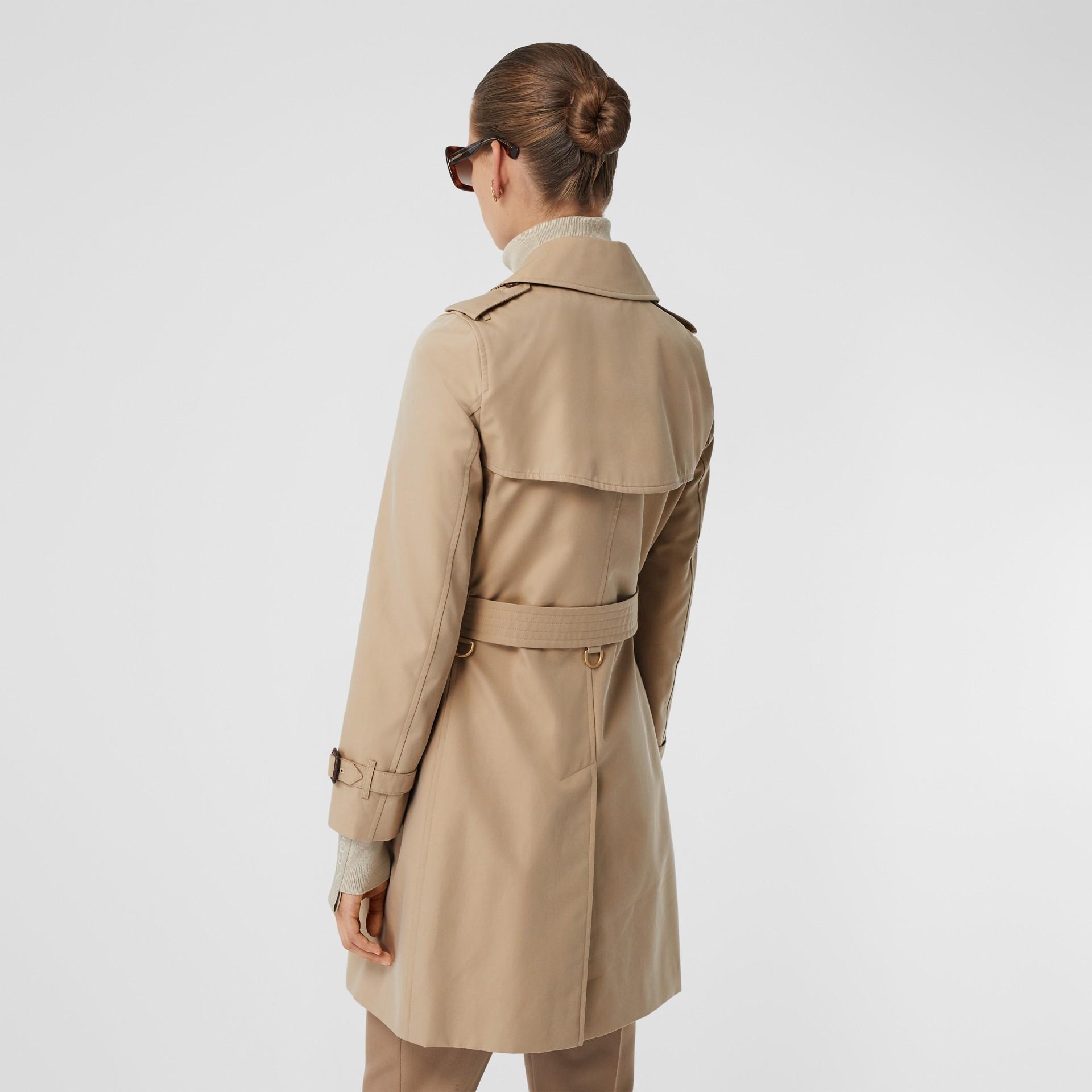 The Short Islington Trench Coat in Honey - Women   Burberry - gallery image 2