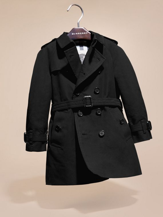 The Wiltshire – Heritage Trench Coat in Black | Burberry - cell image 2