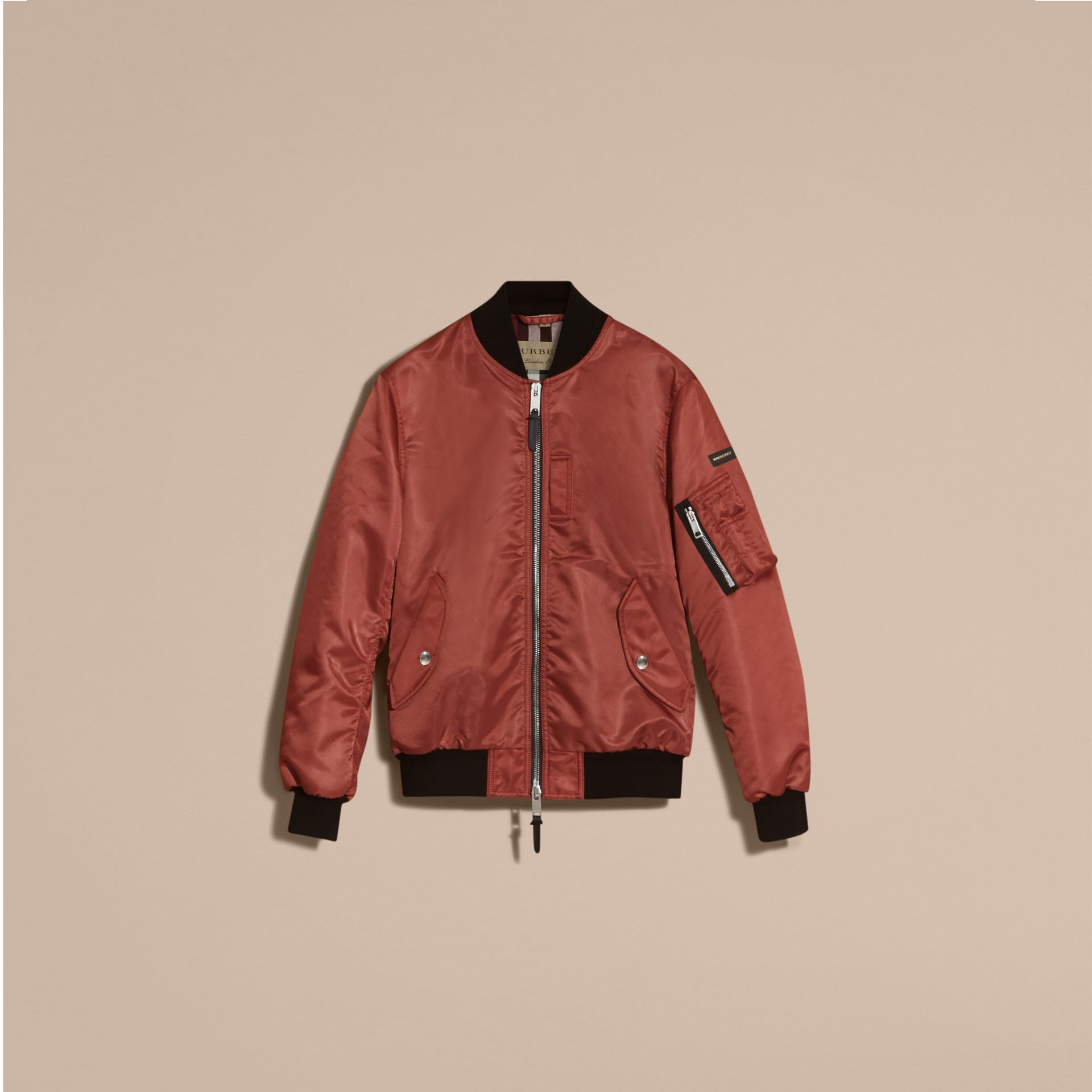 Technical Bomber Jacket Rose Pink - gallery image 4