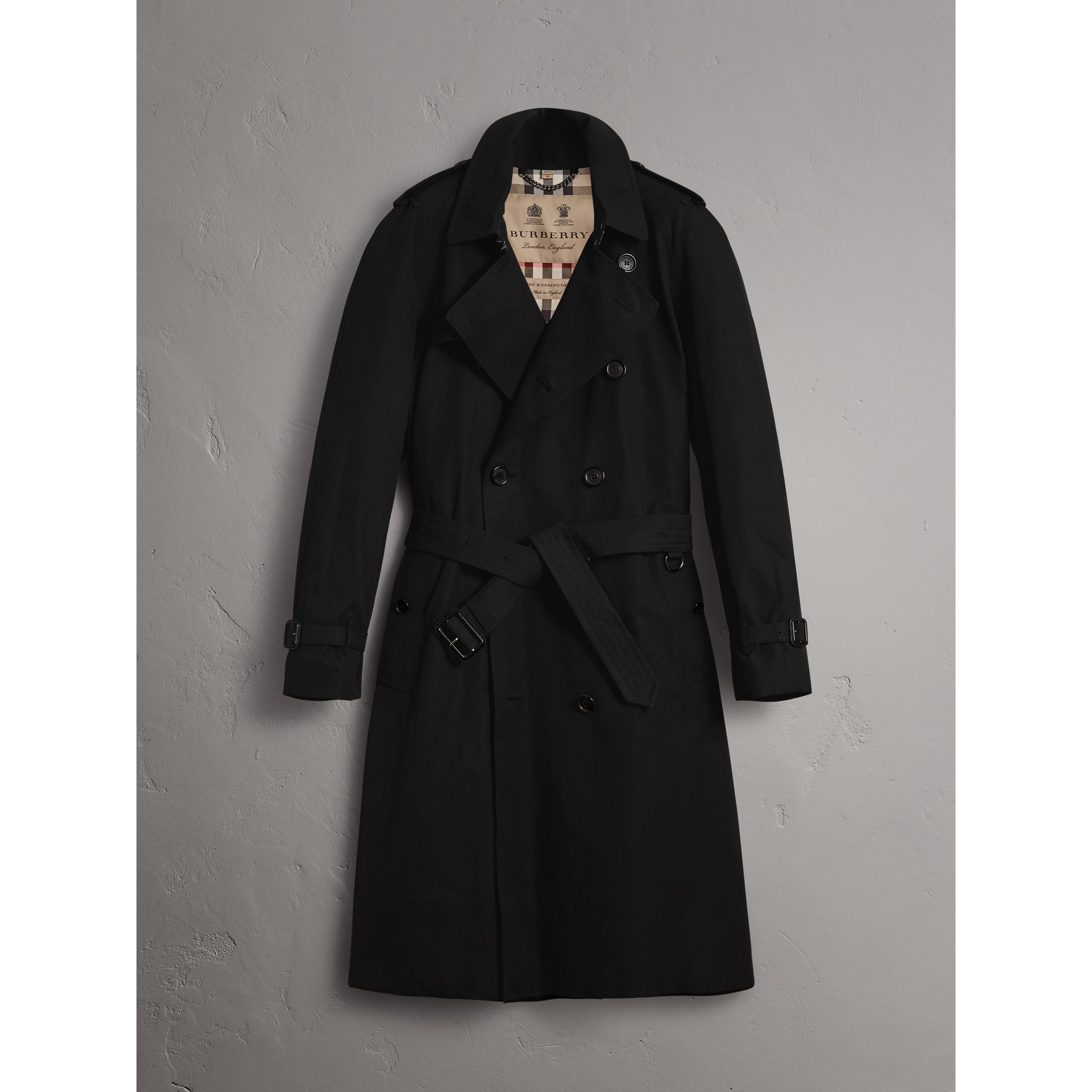 The Westminster – Extra-long Trench Coat in Black - Men | Burberry United States - 4