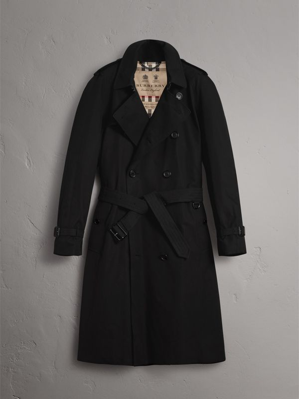 The Westminster – Extra-long Trench Coat in Black - Men | Burberry United States - cell image 3