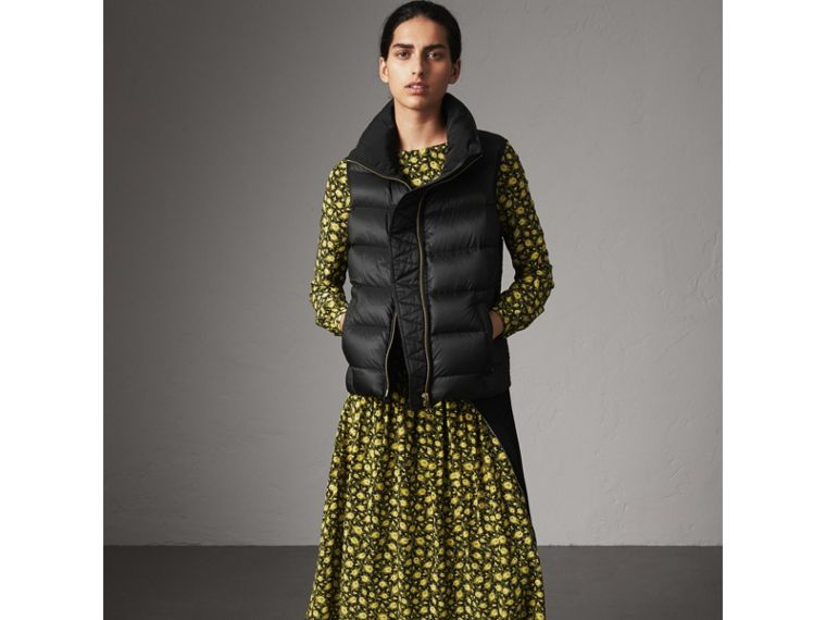 Down-filled Gilet in Black - Women | Burberry United Kingdom - cell image 4