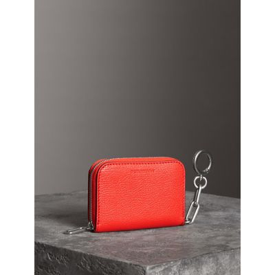 Best Deals Burberry Link Detail Leather Ziparound Wallet Countdown Package For Sale Big Discount Hot Sale 9GIDi6