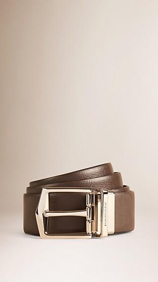 Reversible London Leather Belt
