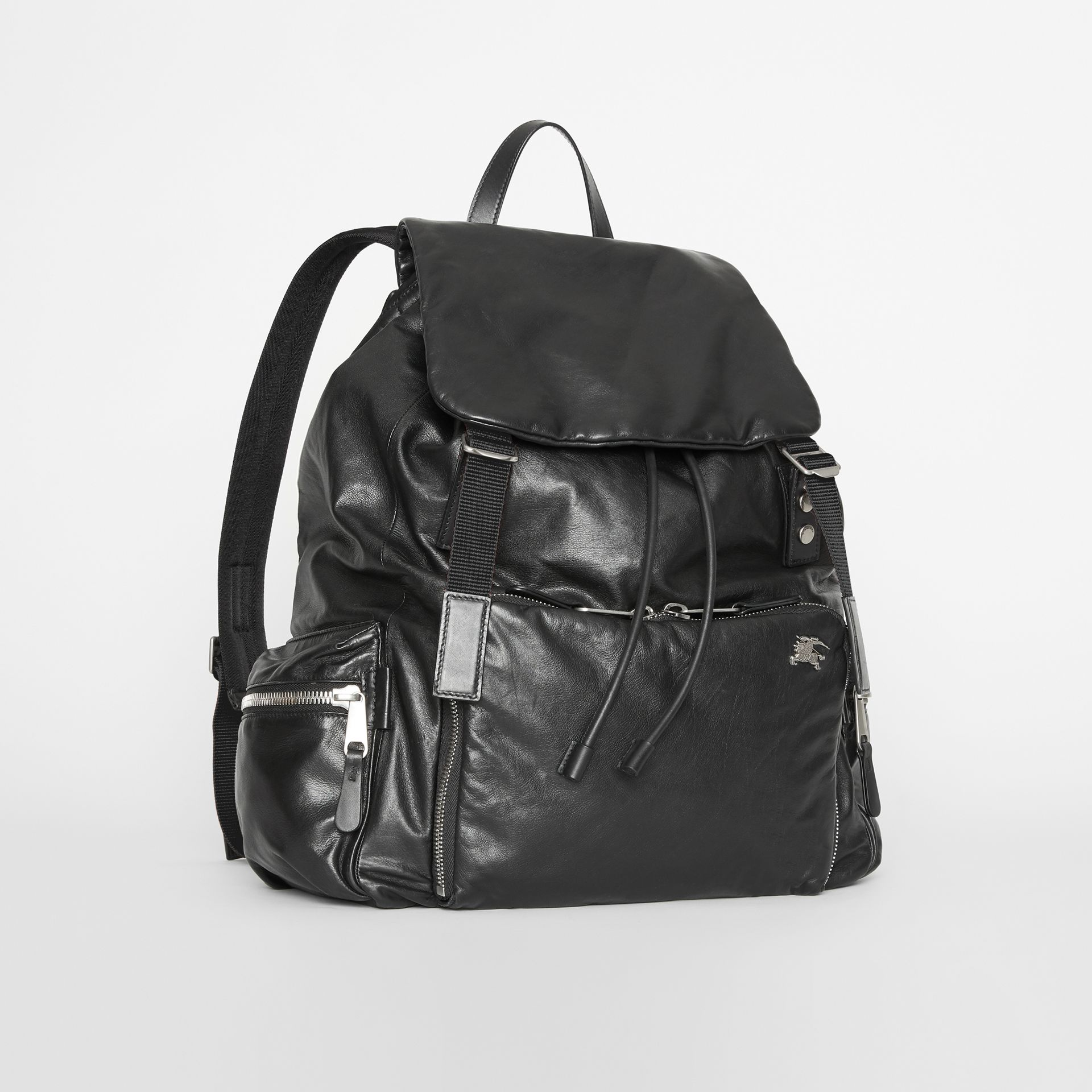Sac The Rucksack extra-large en cuir nappa (Noir) - Homme | Burberry - photo de la galerie 6