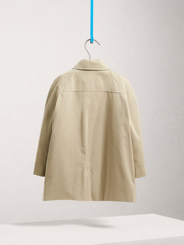 Tropical Gabardine Trench Coat in Sandstone - Girl | Burberry United Kingdom - cell image 3