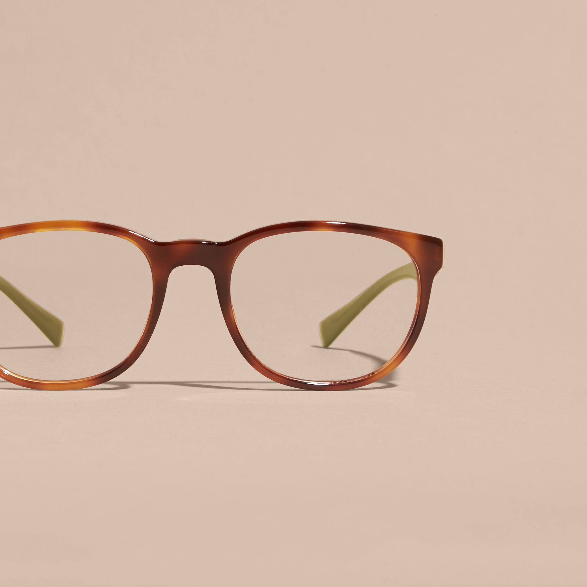 Tortoise shell Square Optical Frames Tortoise Shell - gallery image 3