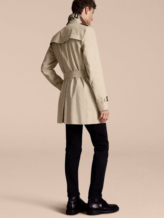 Stone The Kensington – Mid-Length Heritage Trench Coat Stone - cell image 2