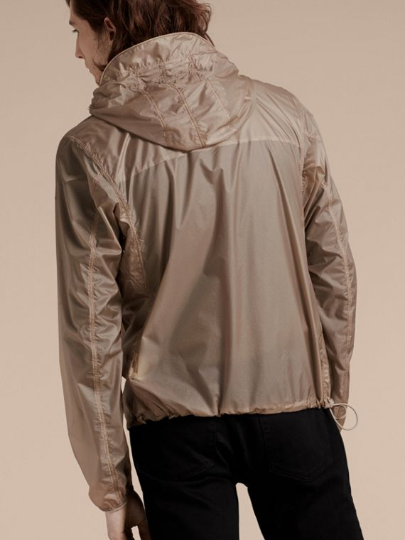 Stone Ultra-lightweight Jacket with Hood Stone - cell image 2