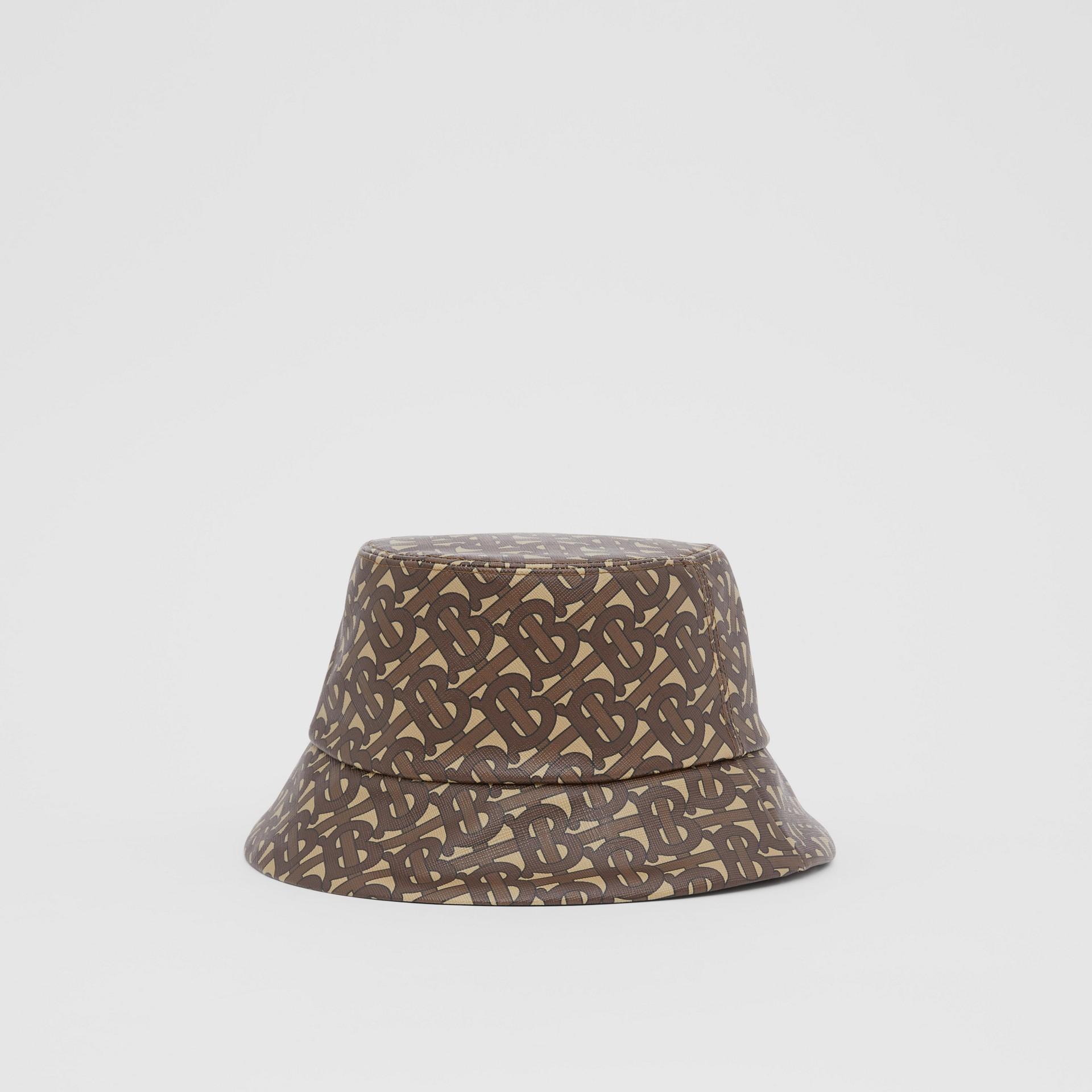 花押字印花漁夫帽 (馬勒棕) | Burberry - 圖庫照片 5