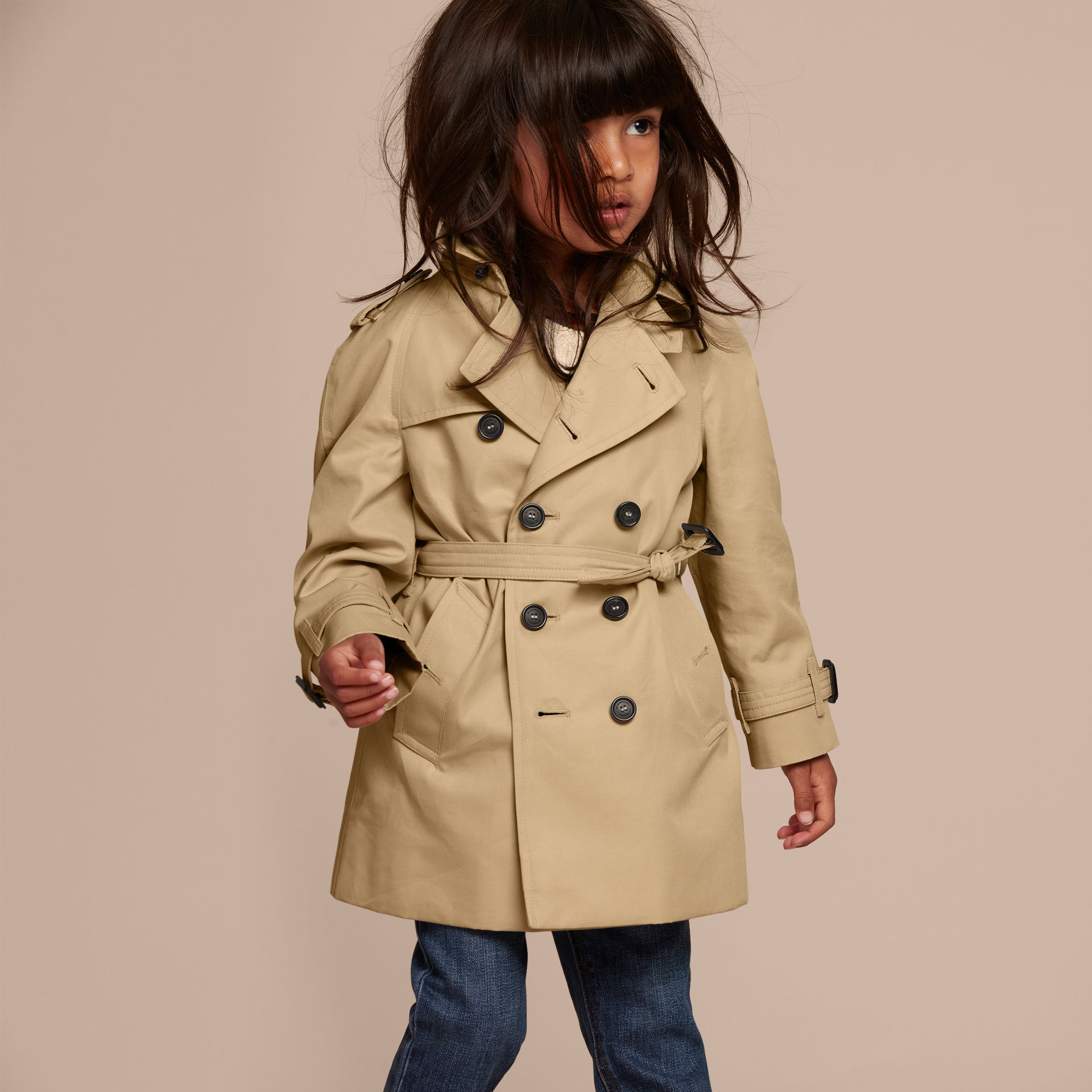Honey The Wiltshire – Heritage Trench Coat Honey - gallery image 6