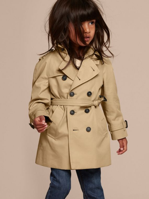 The Wiltshire – Heritage Trench Coat in Honey | Burberry Singapore