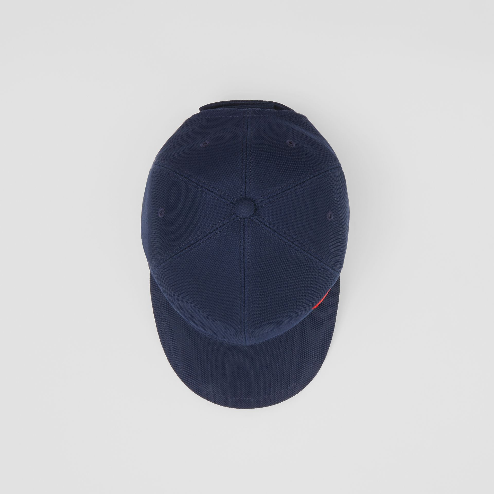 Monogram Motif Baseball Cap in Navy | Burberry - gallery image 0