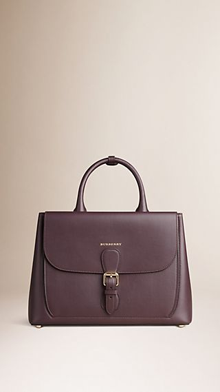 The Medium Saddle Bag in Smooth Bonded Leather