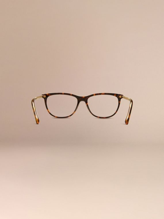 Gabardine Collection Cat-Eye Optical Frames Tortoise Shell - cell image 3
