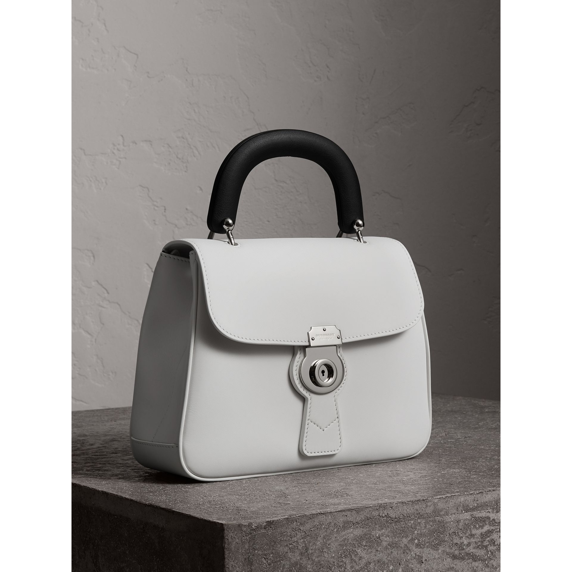 The Medium DK88 Top Handle Bag in Chalk White - Women | Burberry United Kingdom - gallery image 7