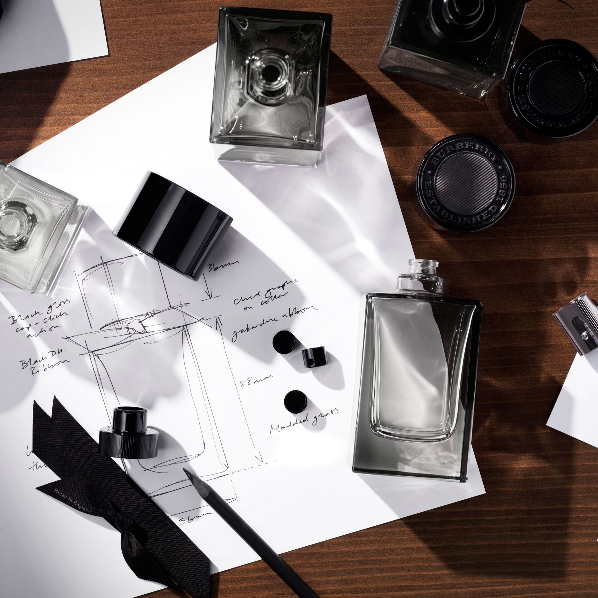 Mr. Burberry Eau de Toilette Set in Black | Burberry - gallery image 4