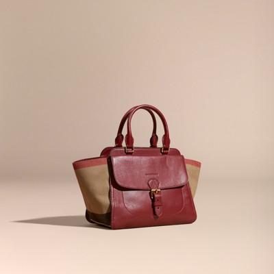 f1384f8d55f Handla från hela världen hos PricePi. medium canvas check leather ...