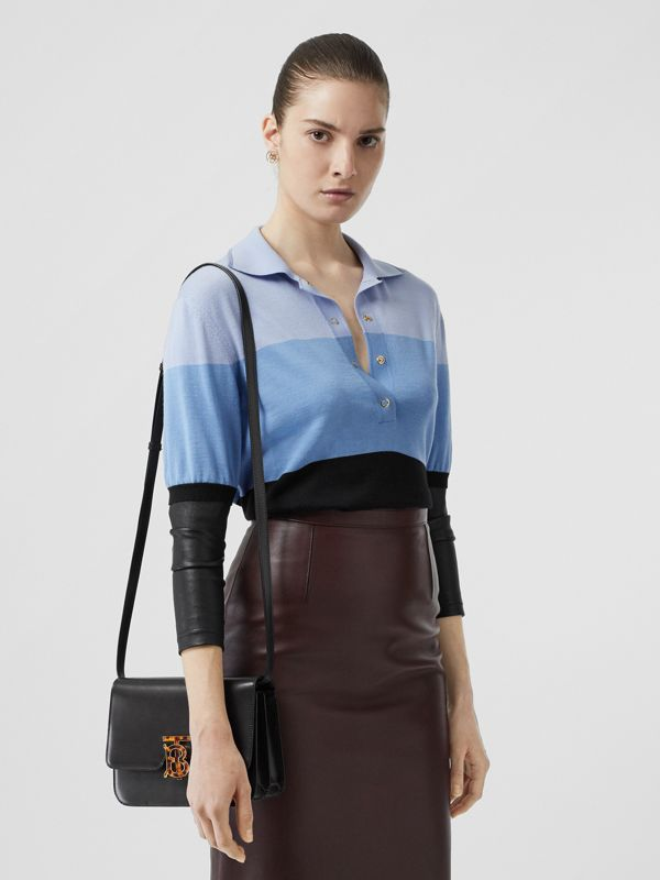 Small Leather TB Bag in Coffee - Women | Burberry - cell image 3