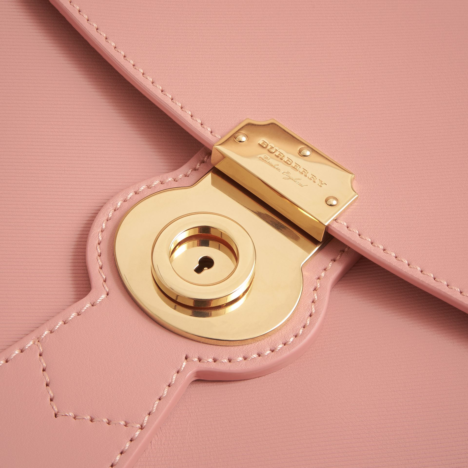 The Medium DK88 Top Handle Bag in Ash Rose - Women | Burberry - gallery image 7