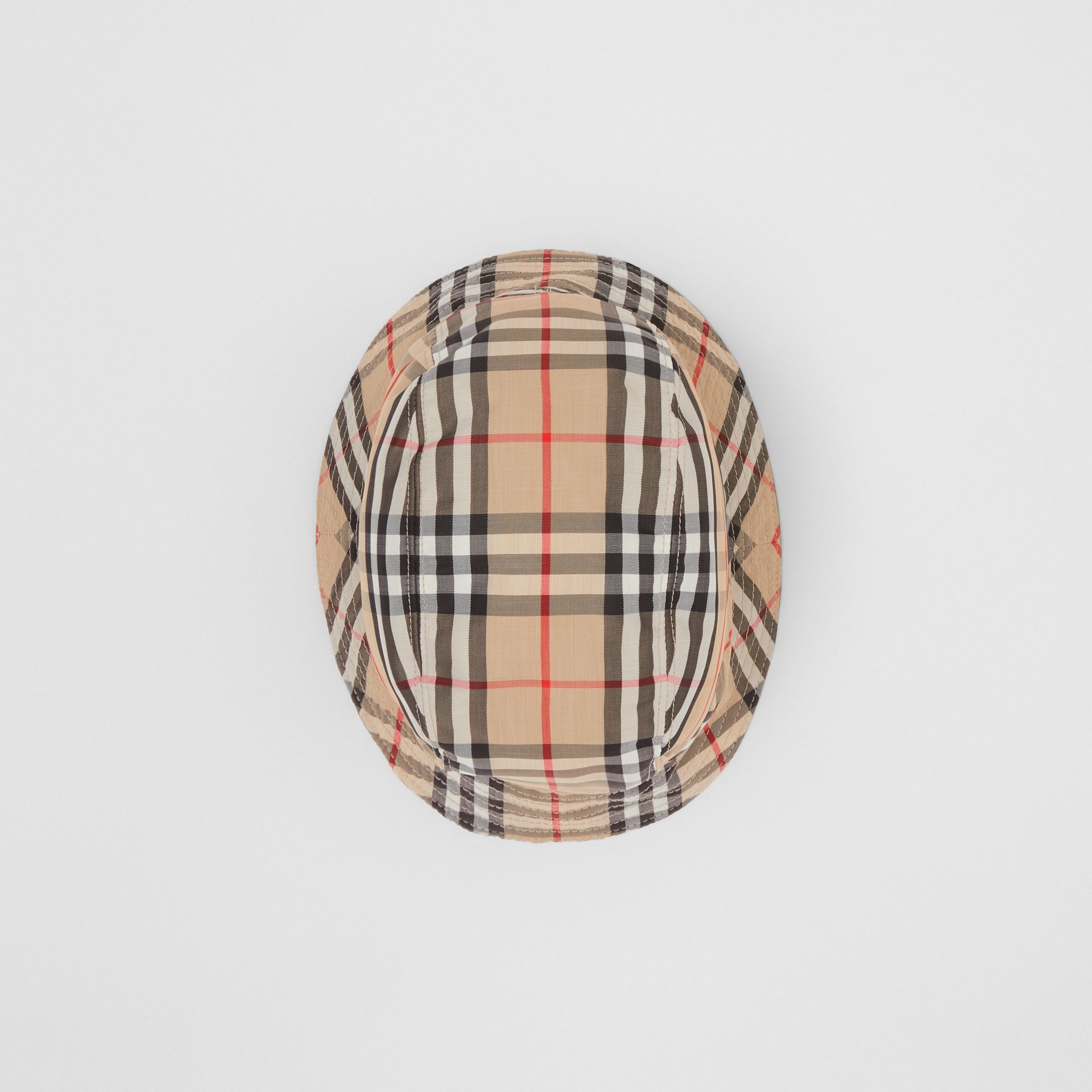 Vintage Check Bucket Hat in Archive Beige | Burberry Australia - gallery image 5
