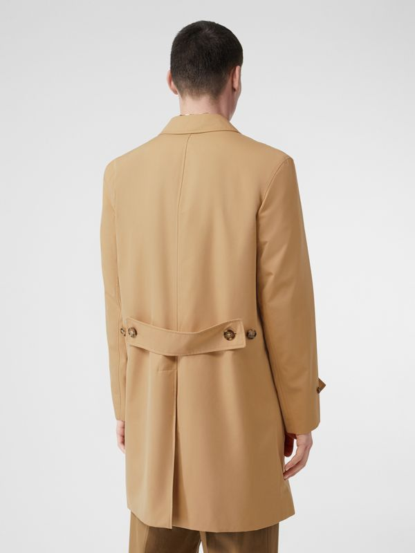 Cotton Gabardine Lab Coat in Honey - Men | Burberry Australia - cell image 2