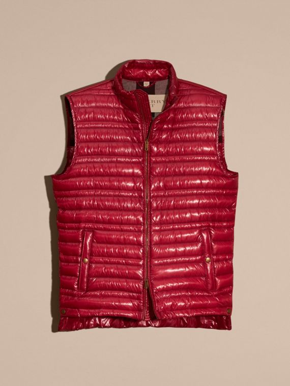 Parade red Lightweight Down-filled Gilet Parade Red - cell image 3