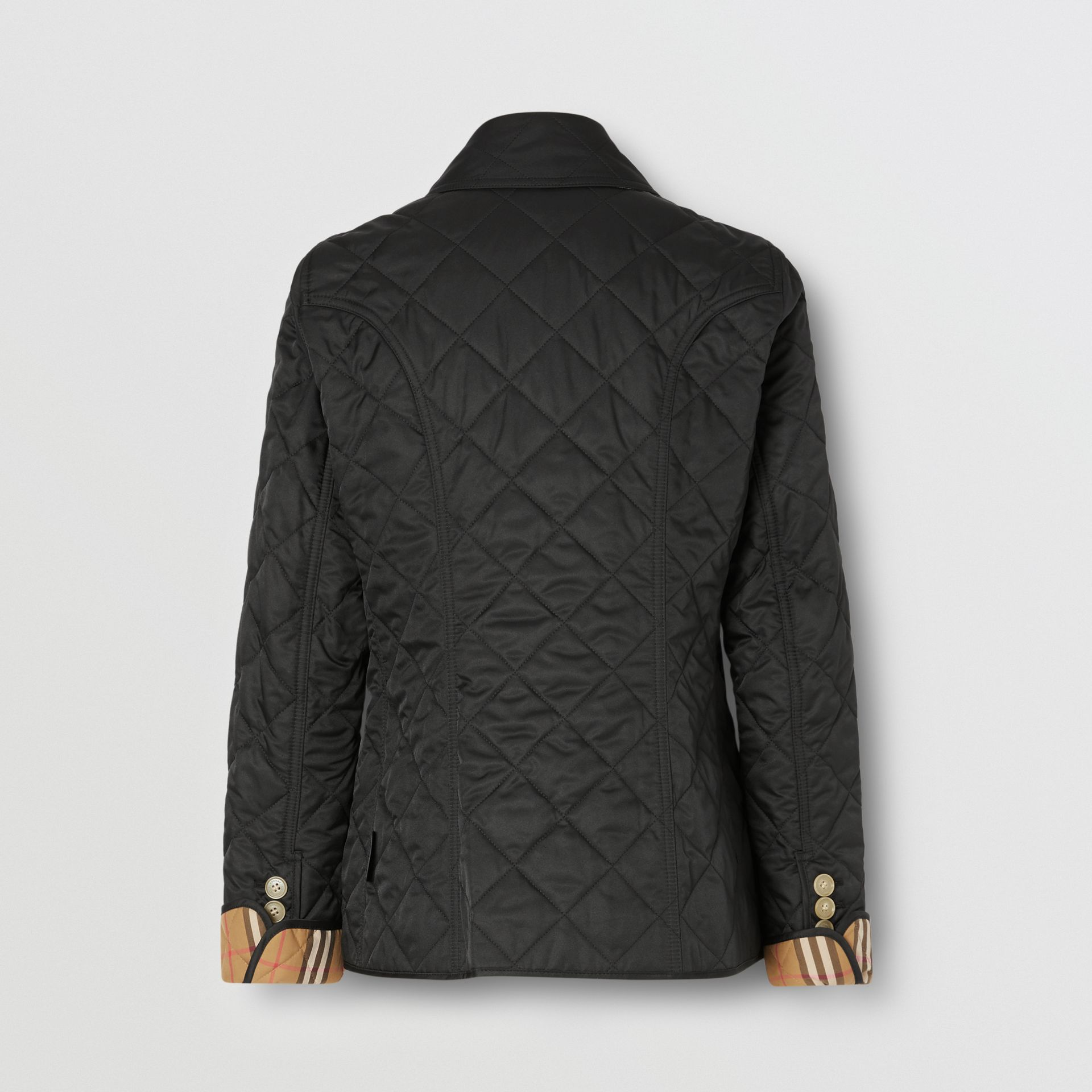Diamond Quilted Jacket in Black - Women | Burberry - gallery image 5