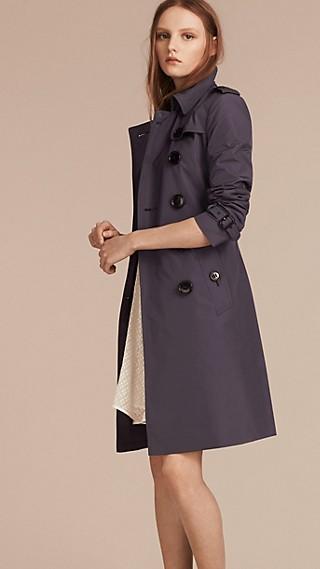 Trench coat in tessuto tecnico