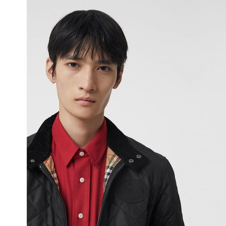 Burberry - Diamond Quilted Thermoregulated Harrington Jacket - 5