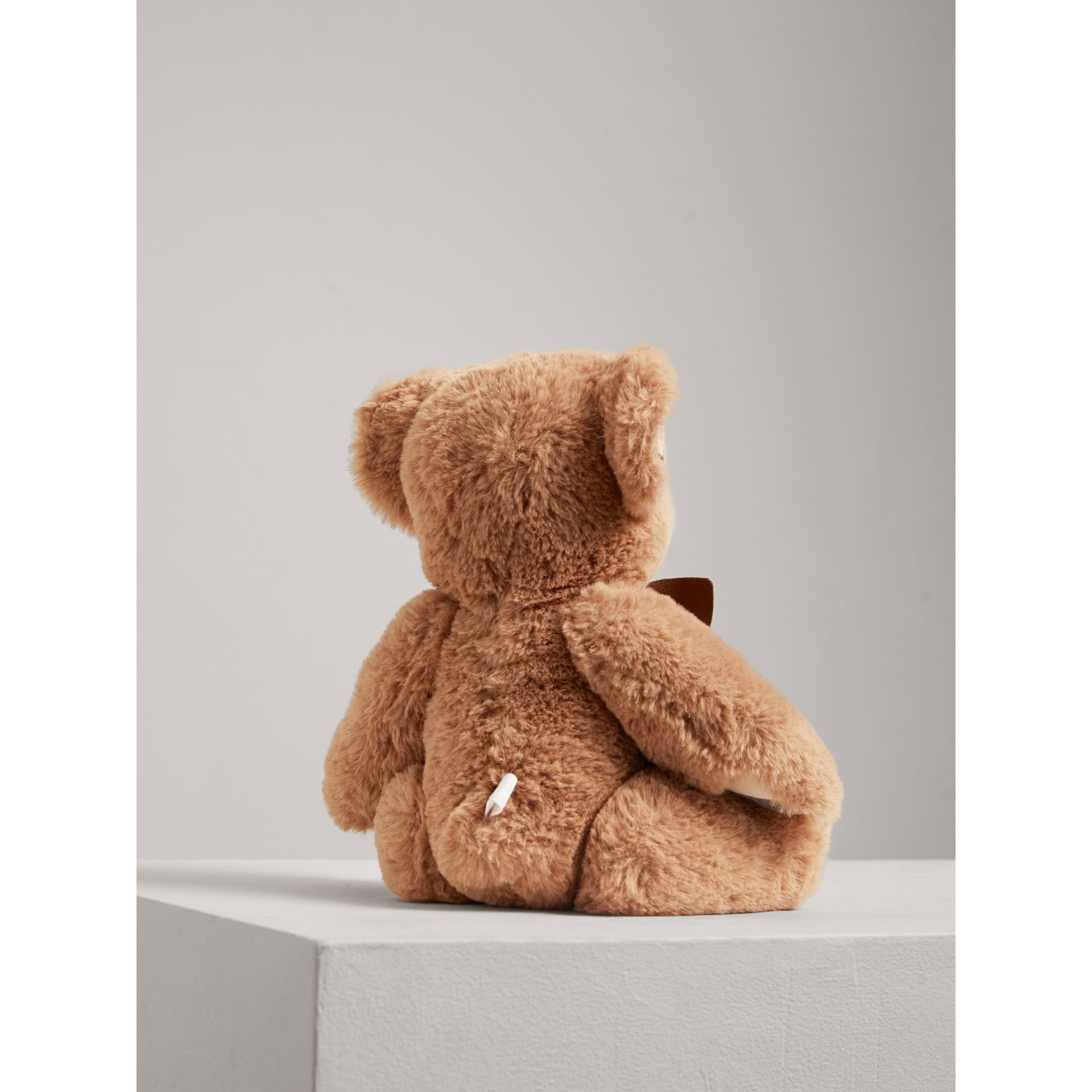 Thomas Baby Bear with Check Detail in Camel - Children | Burberry Canada - gallery image 3