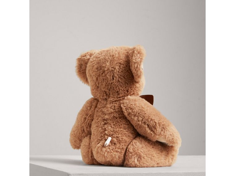 Thomas Baby Bear with Check Detail in Camel - Children | Burberry Singapore - cell image 2