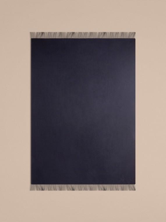 Indigo blue Cashmere Blanket Indigo Blue - cell image 2