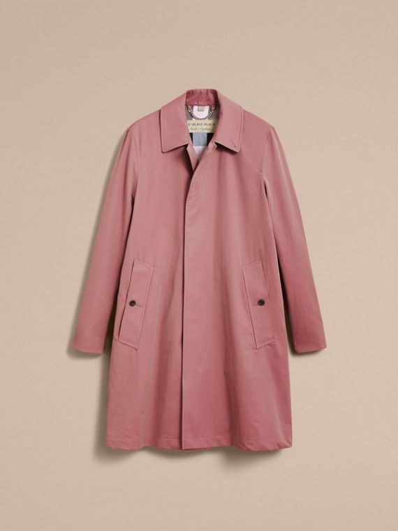 Tropical Gabardine Car Coat Antique Rose - cell image 3