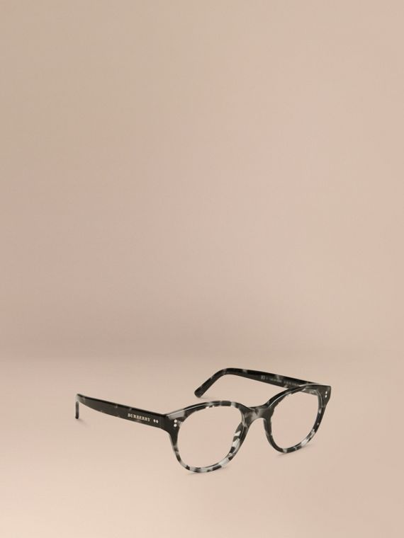 Round Optical Frames Grey