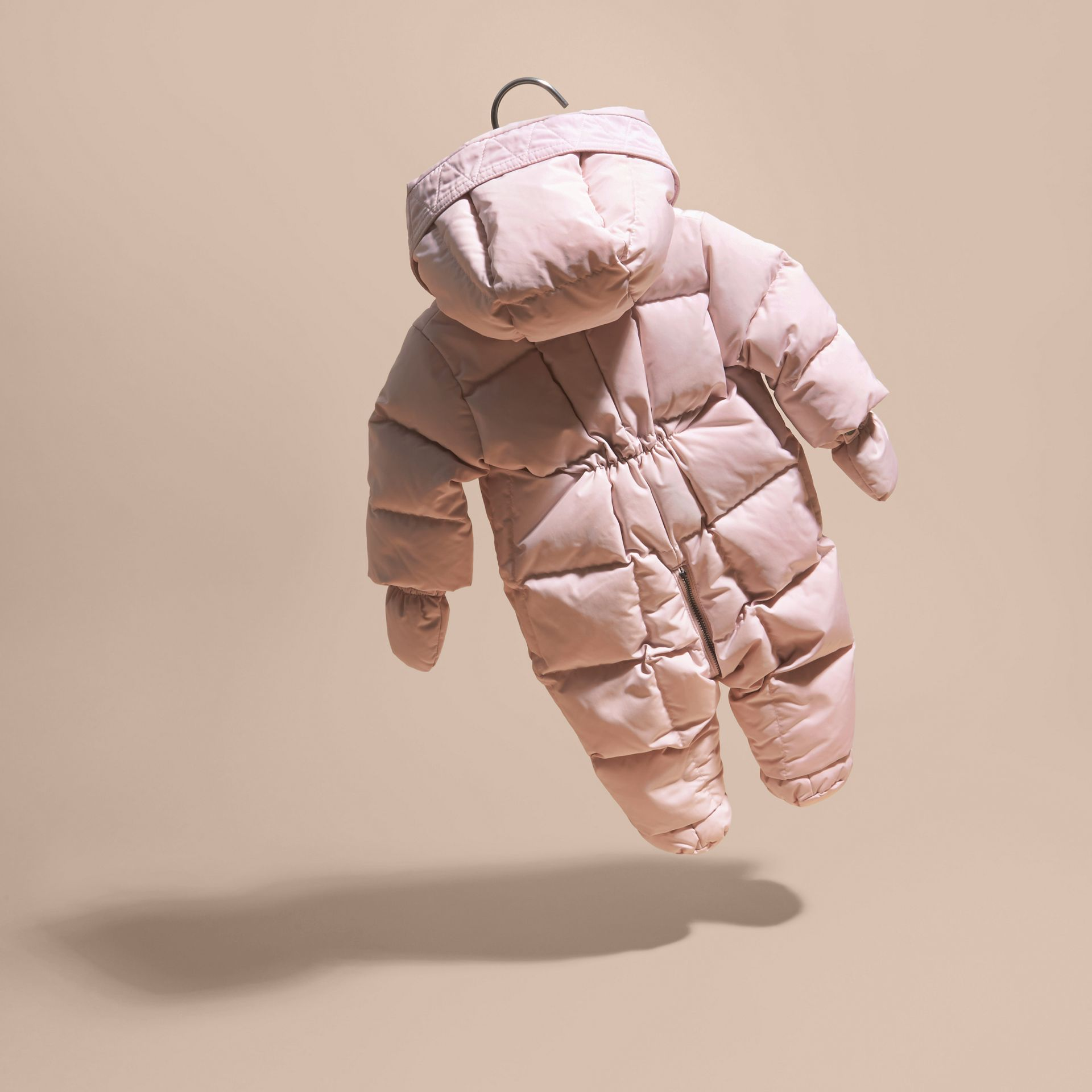 Powder pink Down-filled Puffer Suit Powder Pink - gallery image 4