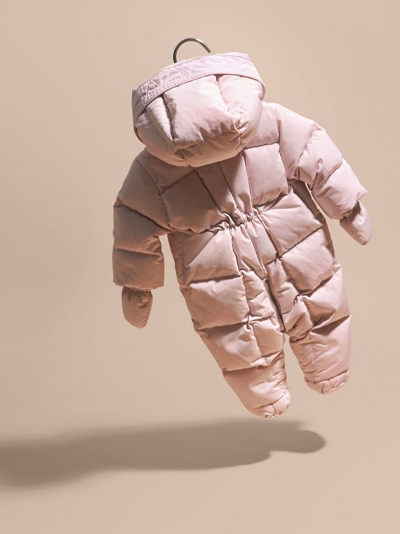 Powder pink Down-filled Puffer Suit Powder Pink - cell image 3