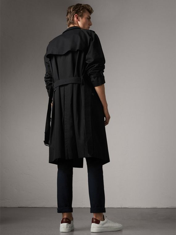 The Westminster – Extra-long Trench Coat in Black - Men | Burberry Australia - cell image 2