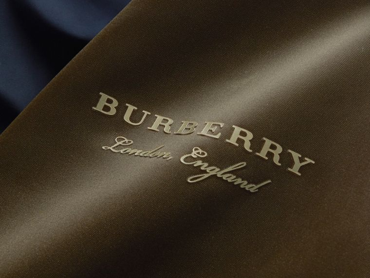 Two-tone Shape-memory Taffeta Bomber Jacket - Men | Burberry - cell image 1